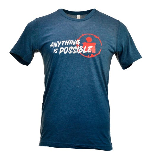 IRONMAN MEN'S ANYTHING IS POSSIBLE TEE