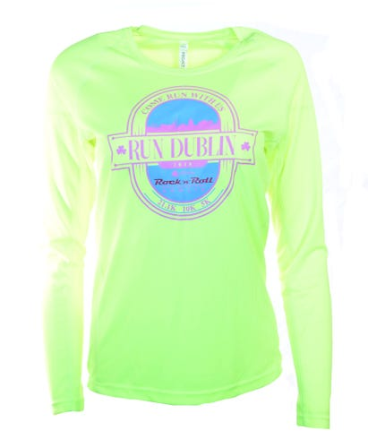 Rock N' Roll Dublin 10K Women's Long Sleeve Name Tee