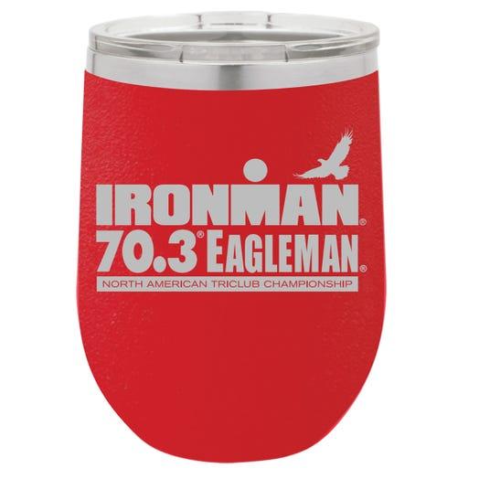 IRONMAN 70.3 EAGLEMAN EVENT WINE TUMBLER