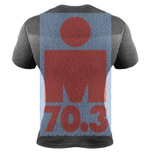 IRONMAN 70.3 EAGLEMAN 2019 MEN'S PERFORMANCE NAME TEE