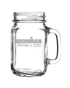 IRONMAN Customized Event Mason Jar