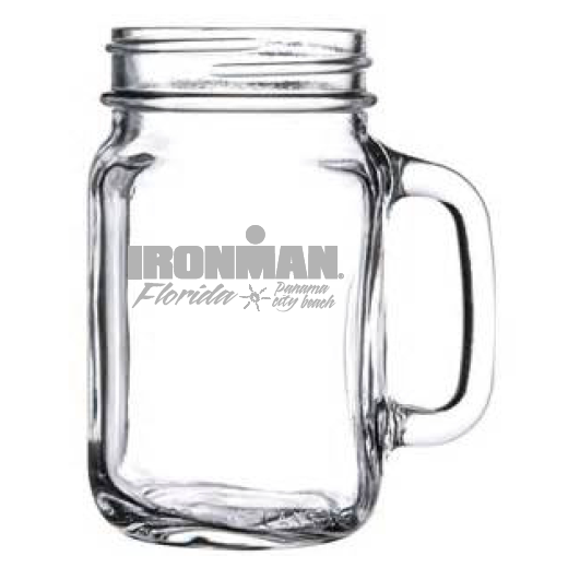 IRONMAN Customized Event Mason Jar