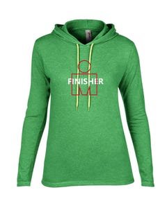 IRONMAN FINISHER Women's Long Sleeve Tee - Green