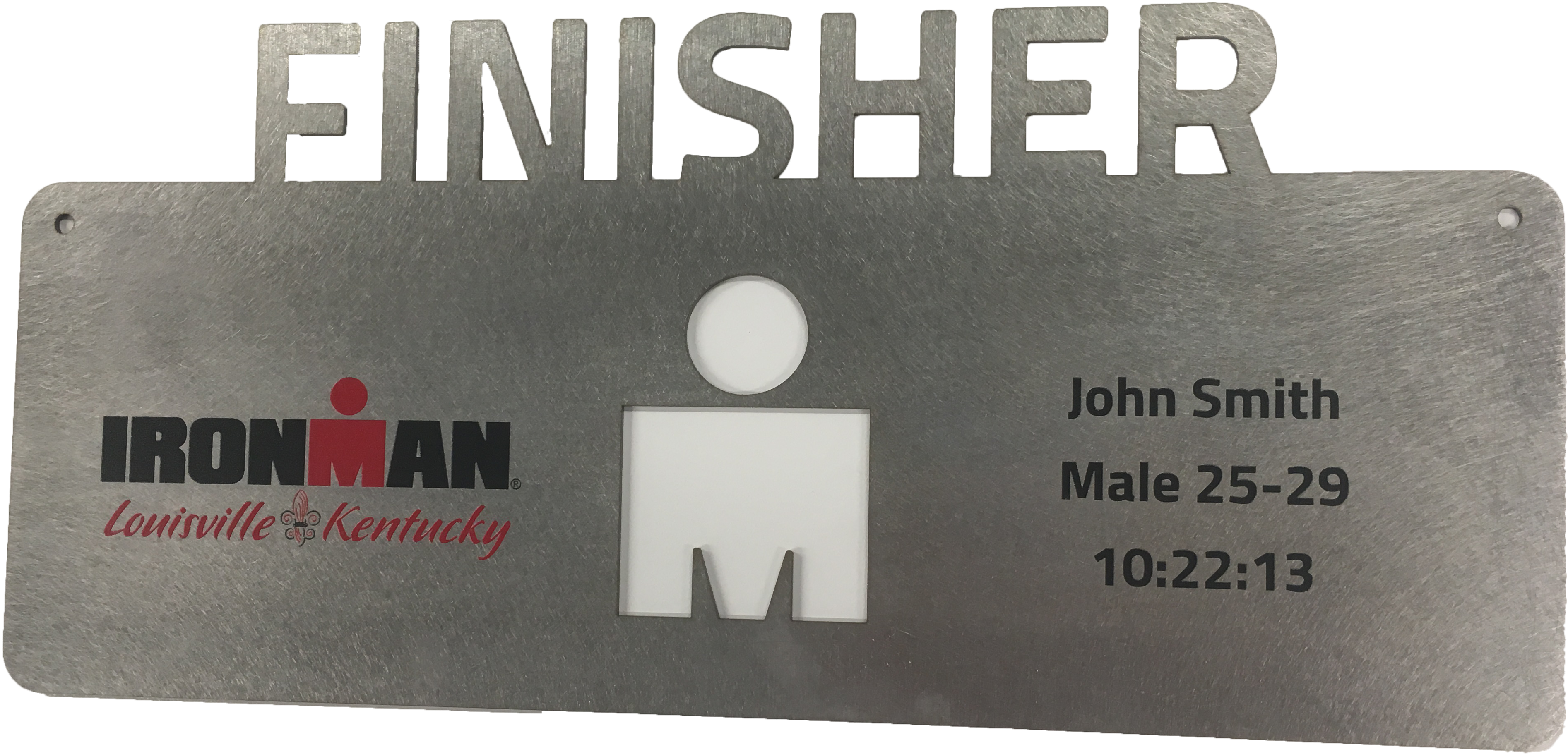 IRONMAN Personalized Finisher Plaque