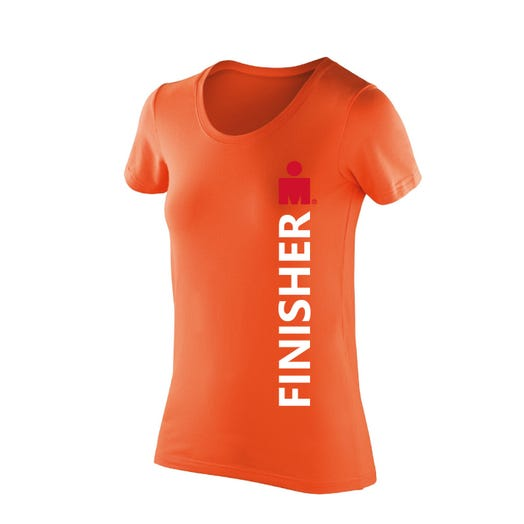 IRONMAN FINISHER Women's Tech Tee - Orange