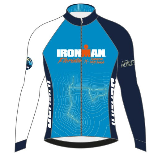 IRONMAN FLORIDA 2019 MEN'S FINISHER COURSE CYCLE JERSEY