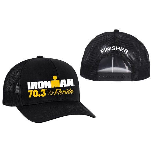IRONMAN 70.3 Florida Finisher Custom Event Trucker Hat