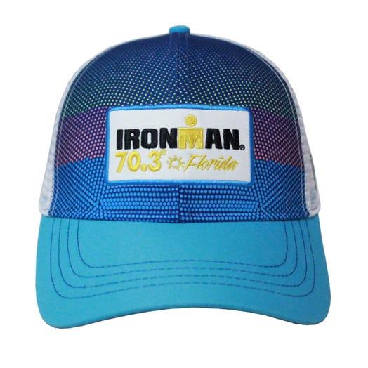 IRONMAN 70.3 Florida 2019 Event Trucker Hat - Blue