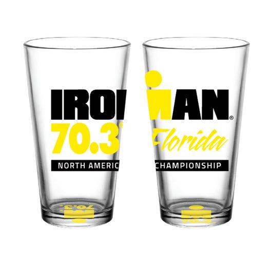 IRONMAN 70.3 Florida 2019 Event Pint Glass