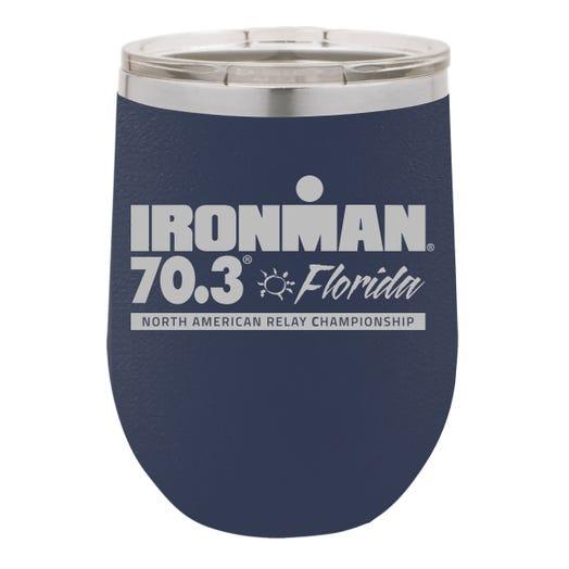 IRONMAN 70.3 FLORIDA EVENT WINE TUMBLER