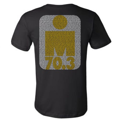 IRONMAN 70.3 Florida 2019 Men's Name Tee - Black