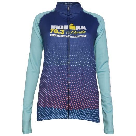 IRONMAN 70.3 Florida 2019 Women's Long Sleeve Finisher Cycle Jersey