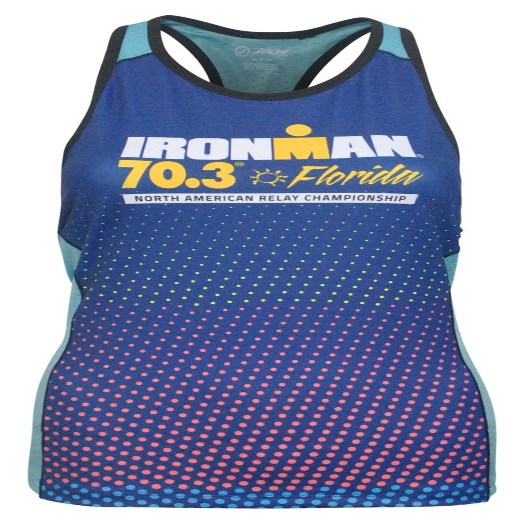 IRONMAN 70.3 Florida 2019 Women's Tri Top