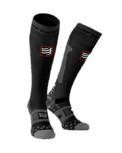 IRONMAN COMPRESSPORT Full Socks Detox & Recovery - Black