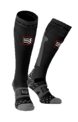 IRONMAN COMPRESSPORT Full Socks Detox & Recovery - Black