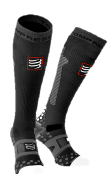 IRONMAN COMPRESSPORT Full Socks Detox & Recovery - WHITE