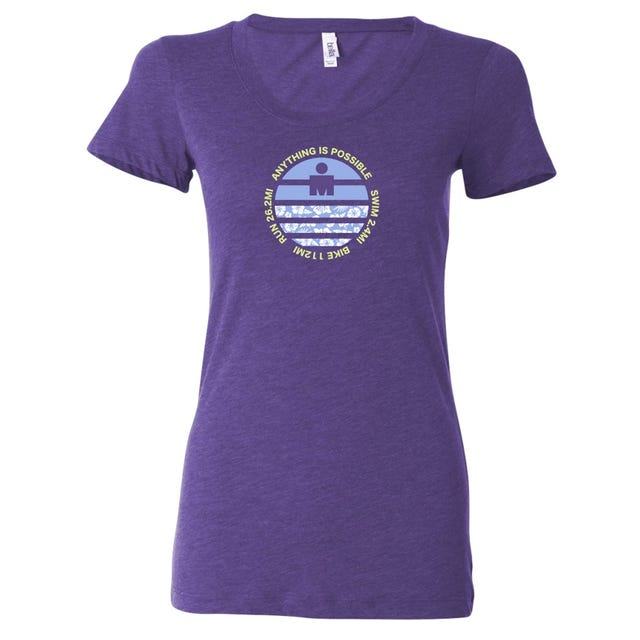 IRONMAN Women's Flower Gradient Tee