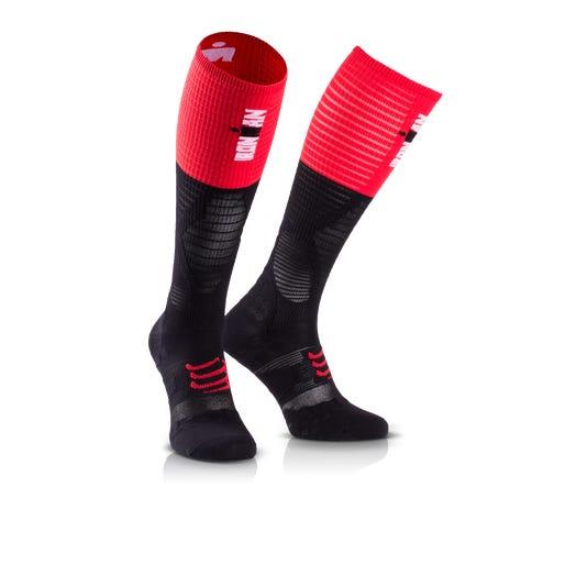 IRONMAN CompresSport Full Socks Ultralight - Black Stripe