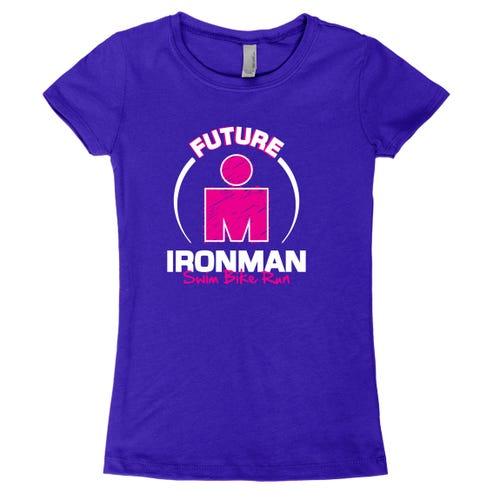 IRONMAN Girls FUTURE IRONMAN Tee - Yellow