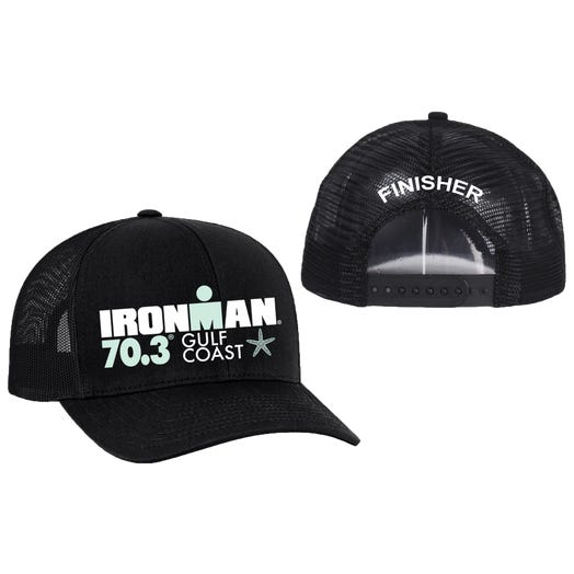IRONMAN 70.3 Gulf Coast Finisher Custom Event Trucker Hat