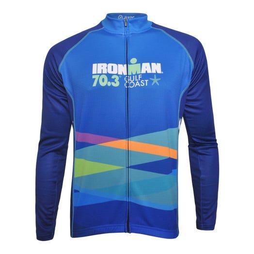 IRONMAN 70.3 GULF COAST MEN'S THERMO FINISHER CYCLE JERSEY