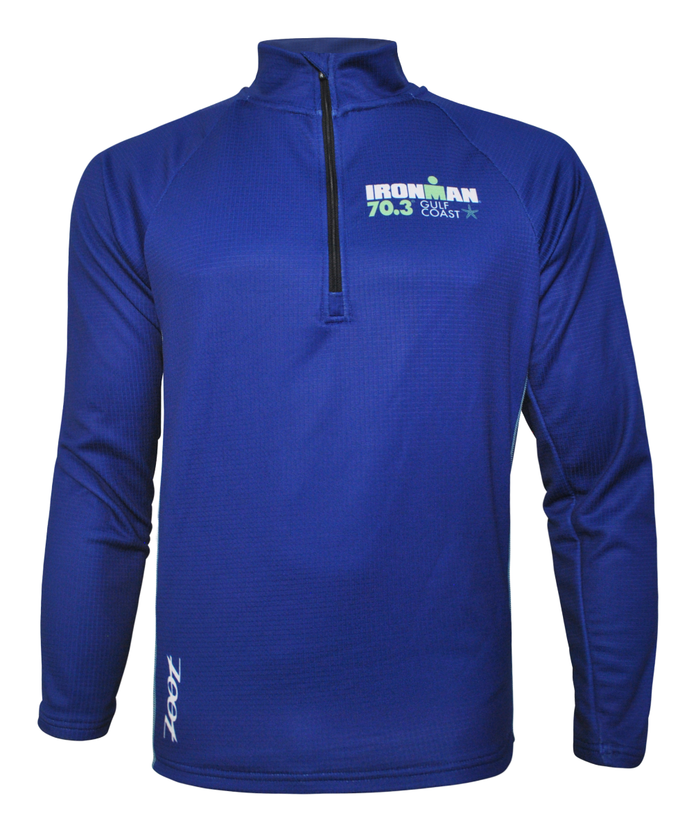 IRONMAN 70.3 GULF COAST MEN'S HALF ZIP