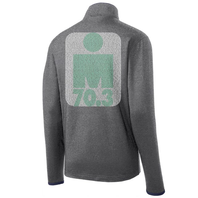 IRONMAN 70.3 GULF COAST 2019 MEN'S FULL ZIP NAME FLEECE