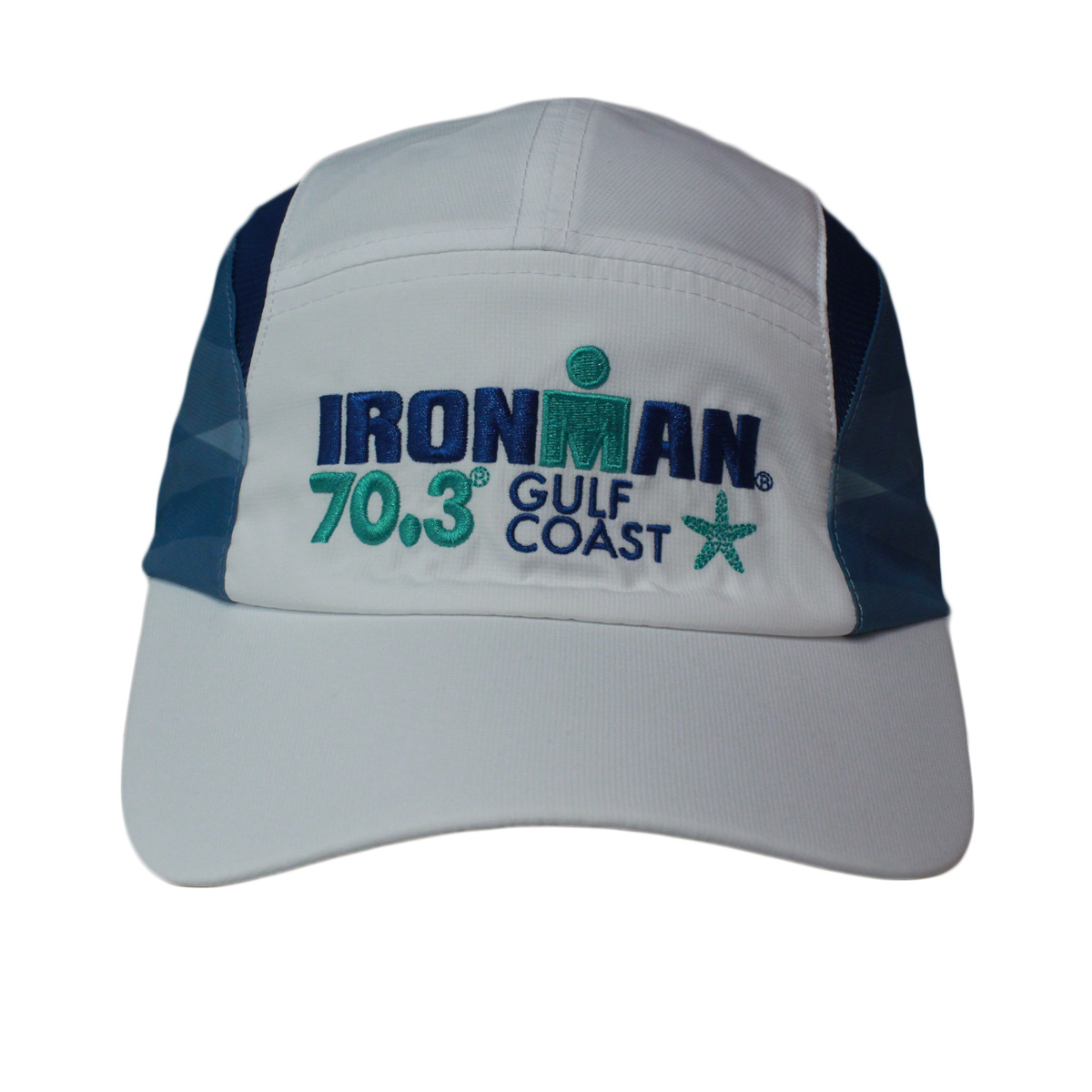 IRONMAN 70.3 GULF COAST EVENT TECH HAT - WHITE