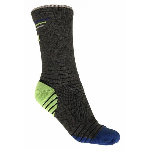 IRONMAN Run Crew Sock - Heather Grey