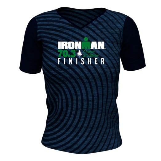 IRONMAN 70.3 COEUR D'ALENE WOMEN'S FINISHER PERFORMANCE TEE