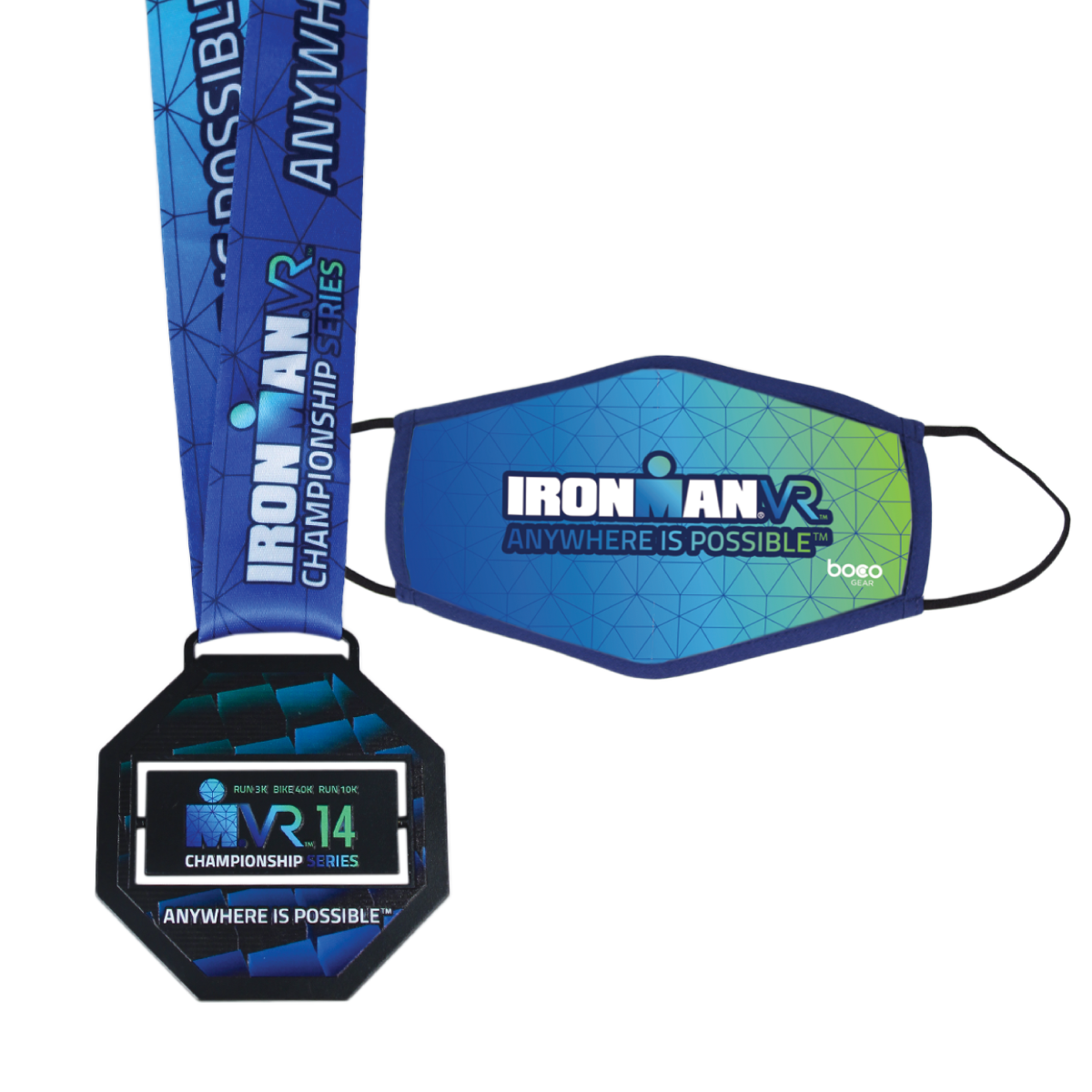 IRONMAN VR14 CHAMPIONSHIP SERIES FINISHER MEDAL