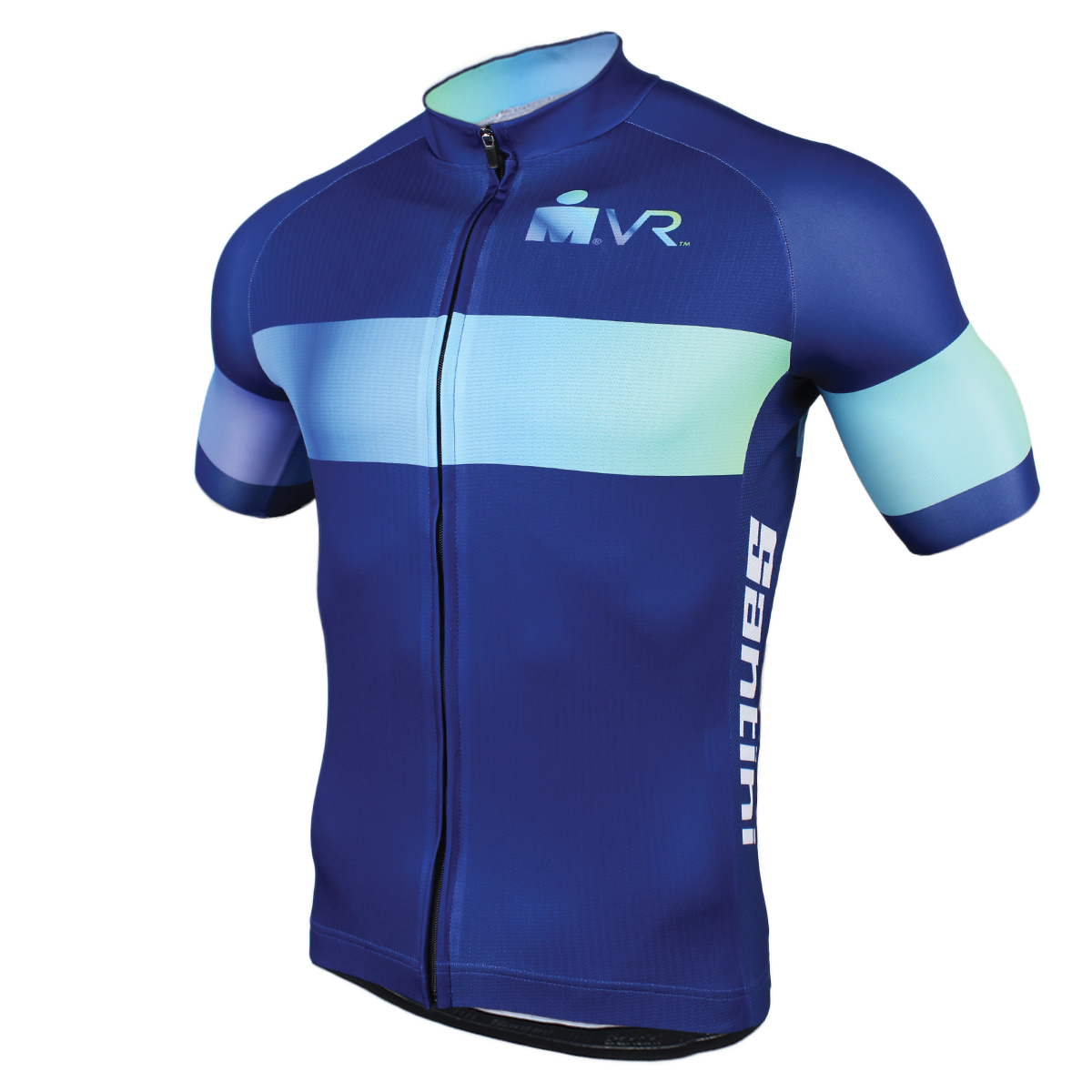 IRONMAN SANTINI VIRTUAL RUN MEN'S CYCLE JERSEY