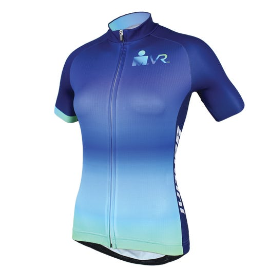 IRONMAN SANTINI VIRTUAL RUN WOMEN'S CYCLE JERSEY