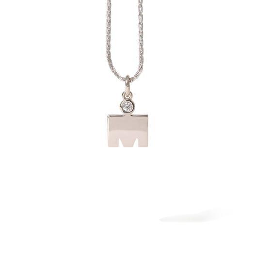 IRONMAN M-Dot Diamond 14KT Gold 10.9mm Pendant