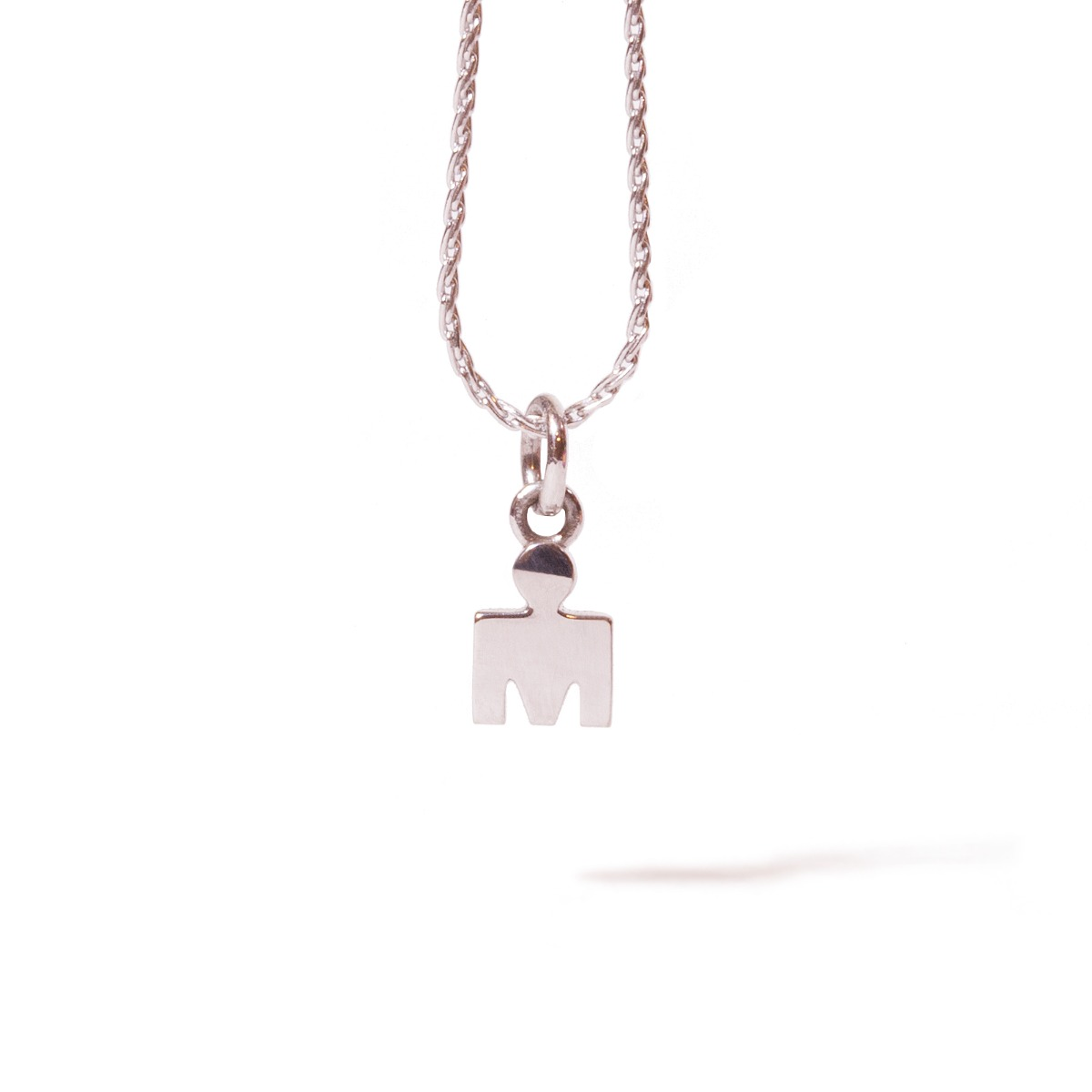 IRONMAN M-DOT White Gold Pendant