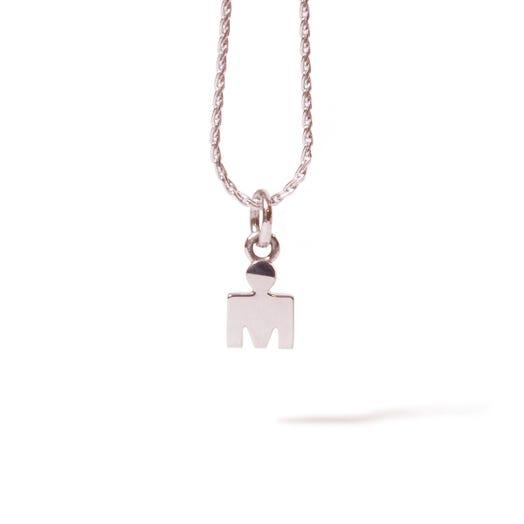 IRONMAN M-DOT White Gold Pendant