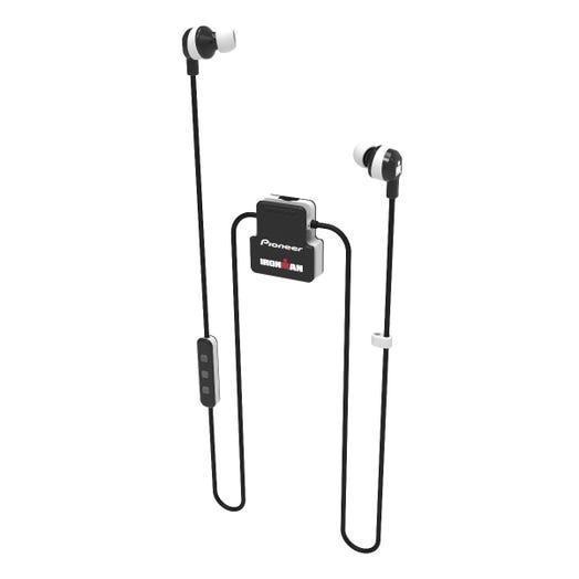 IRONMAN Pioneer Wireless Sports Earphones - White