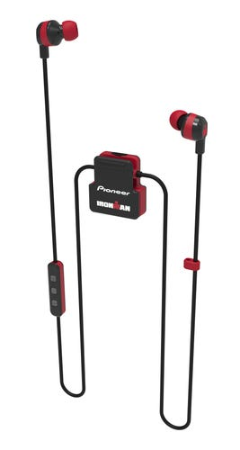 IRONMAN Pioneer Wireless Sports Earphones - Red