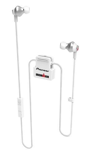 IRONMAN Pioneer IM6 Wireless Sports Earphones - White