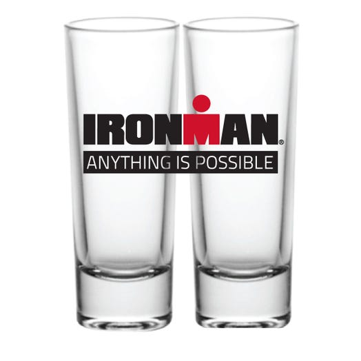 IRONMAN ANYTHING IS POSSIBLE SHOT GLASS
