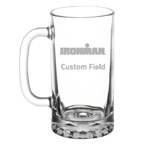 IRONMAN Personalized Beer Mug
