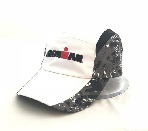 IRONMAN Marble White Grey Tech Hat