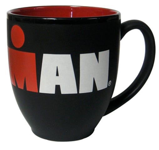 IRONMAN Black Matte Mug
