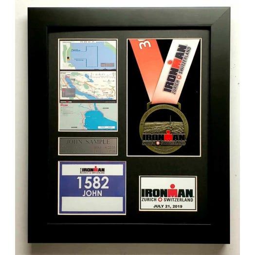 2019 IRONMAN Switzerland Finisher Display