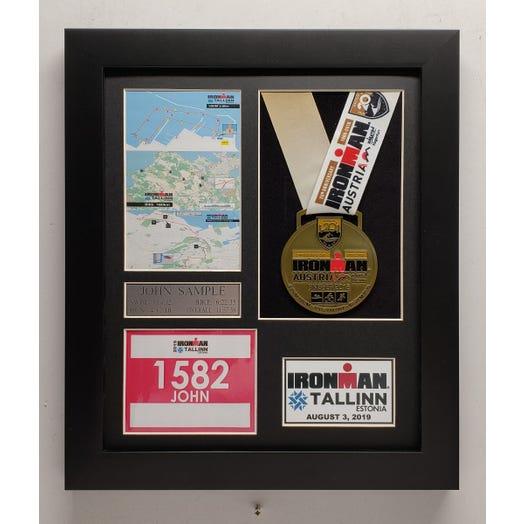2019 IRONMAN Tallinn Finisher Display