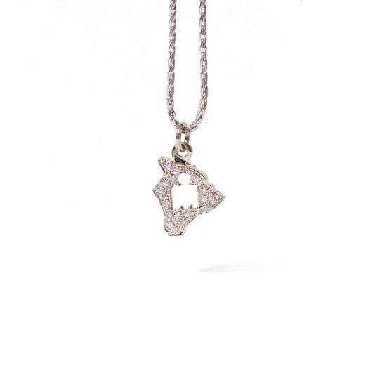 IRONMAN World Championship M-DOT Pendant - White Gold with .10 ct Diamonds