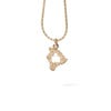 IRONMAN World Championship M-DOT Pendant - Yellow Gold with .10 ct Diamonds
