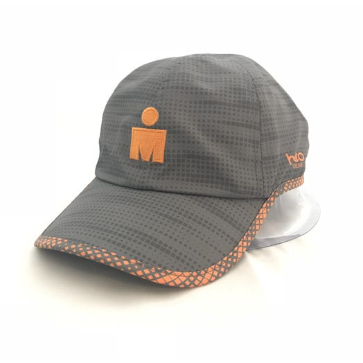 IRONMAN MDOT Grey Orange Digital Tech Hat