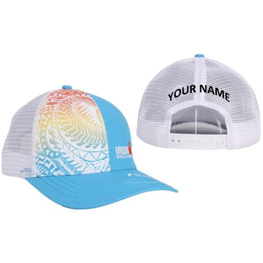 IRONMAN World Championship Personalized Technical Trucker Hat