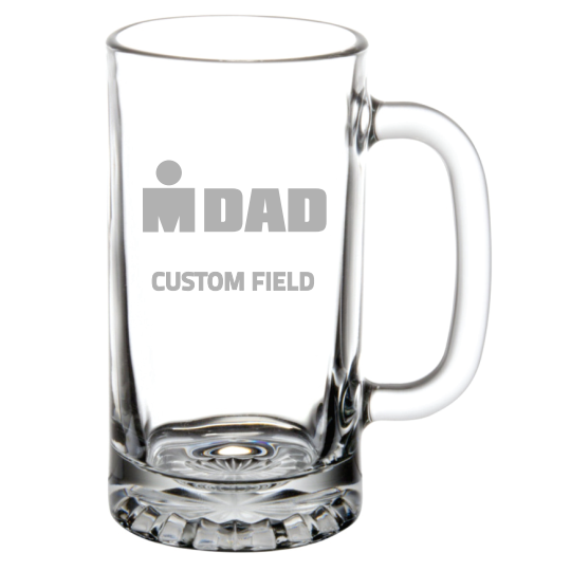 IRONDAD Personalized Beer Mug